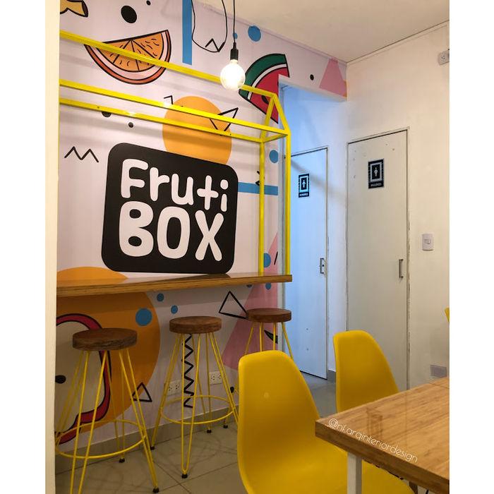 PROYECTO JUGUERIA FRUTI BOX - IMPLEMENTACION NF Diseño de Interiores Restaurantes