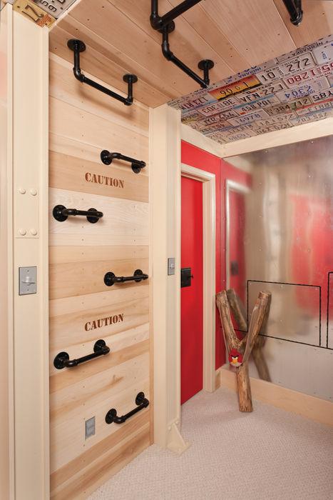 Adaptiv DC ห้องนอนเด็กชาย ไม้ Red