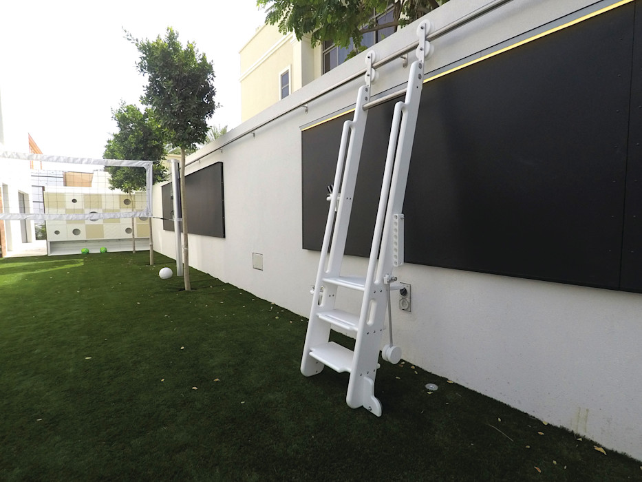 Contemporary Outdoor Playground Adaptiv DC 嬰兒房/兒童房 金屬 White