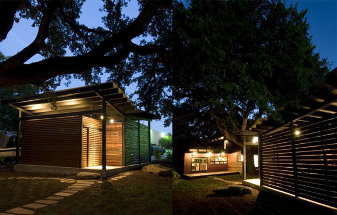 Casa fatta con containers navali Green Living Ltd Case moderne