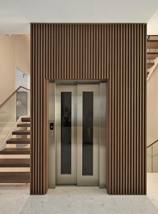 Mr Shopper Studio   Landed Property   Cayman Residence   Lift Mr Shopper Studio Pte Ltd Stairs Wood Brown