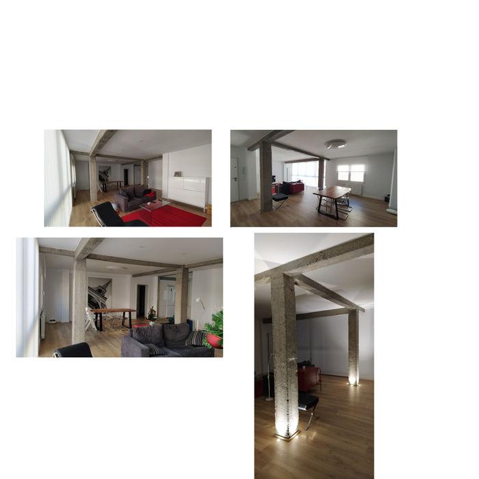 Universal Group Modern Living Room Wood White