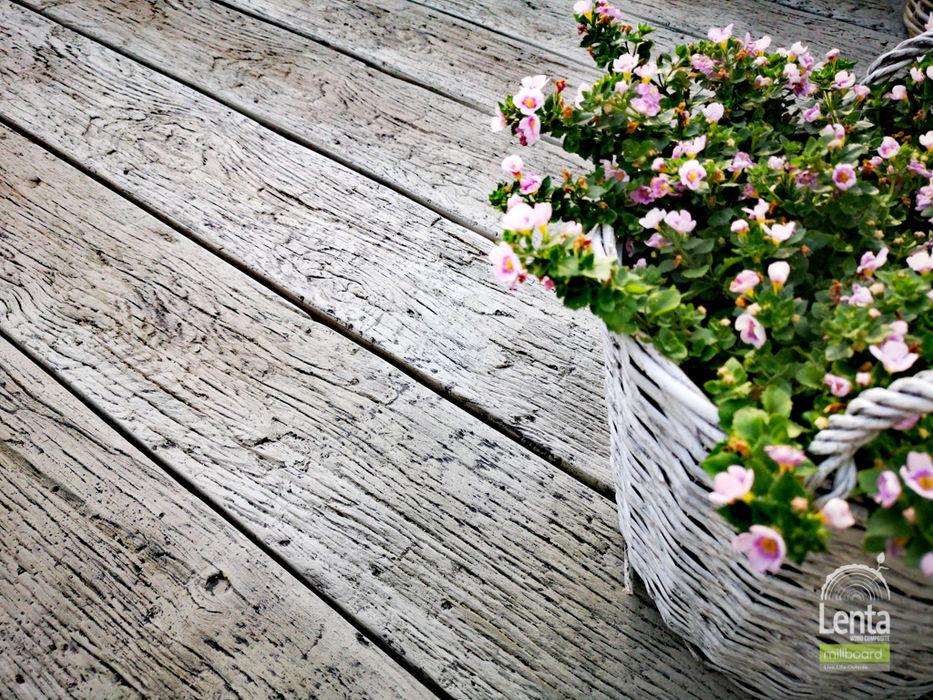 Taras millboard - deski idealne Lenta Rustykalny balkon, taras i weranda