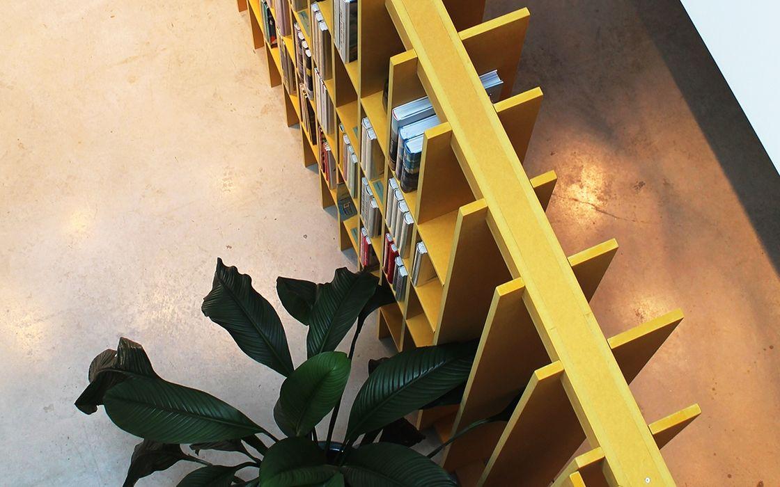 Pop-Up Store Gestalten x Banema Studio com Valchromat Banema S.A. ArteOutras obras de arte MDF Amarelo