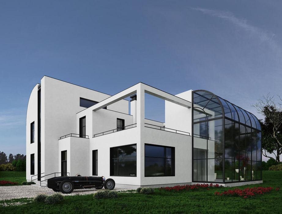 Вилла в стиле Модернизм InScale Дома на одну семью