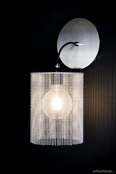 BottomFold Wall Sconce willowlamp BedroomLighting Aluminium/Zinc Metallic/Silver