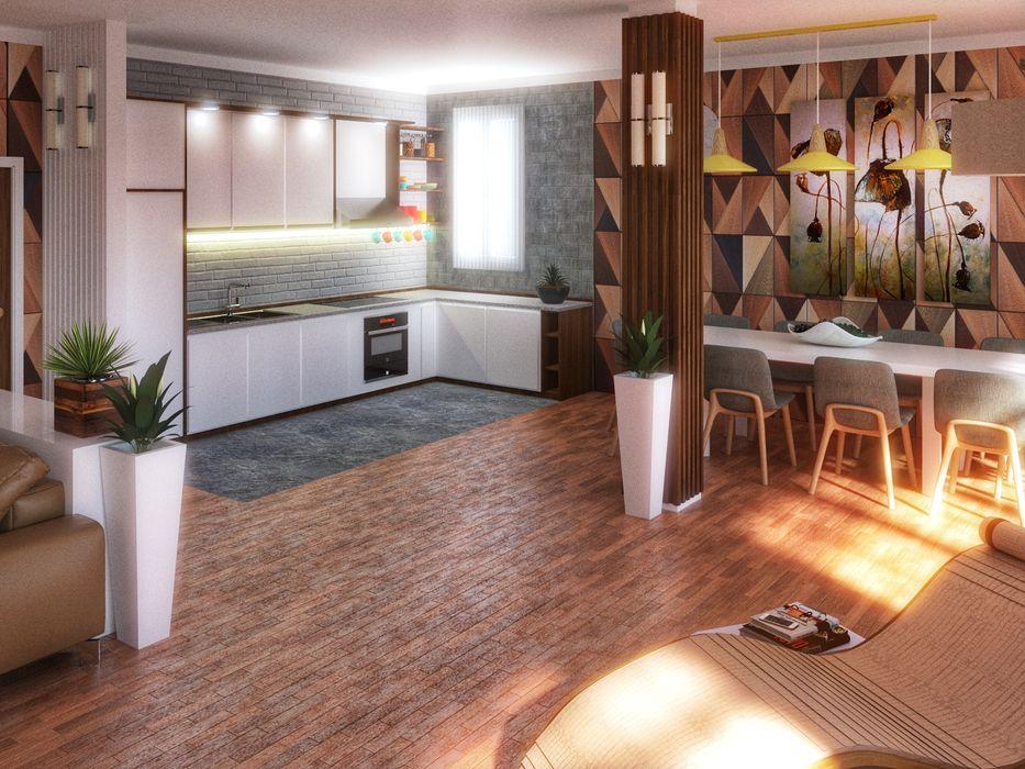 Fanchini Roberto architetto - Archifaro Modern kitchen