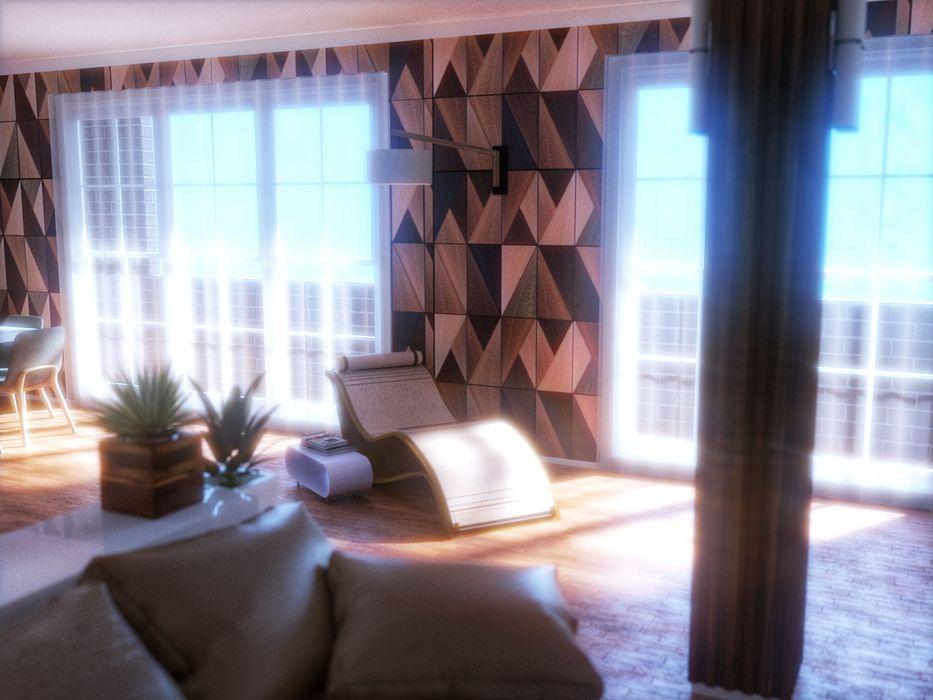 Fanchini Roberto architetto - Archifaro Modern living room