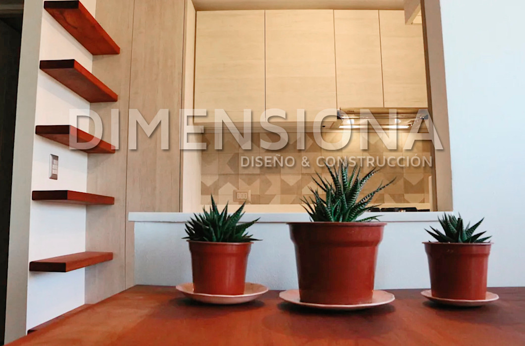 Dimensiona Hogar Built-in kitchens