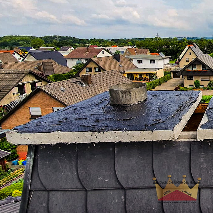 Reparatur Kamin in Kirchlengern Dachdeckermeisterbetrieb Dirk Lange Satteldach