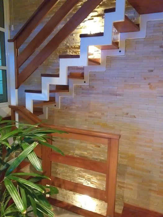 Rebello Pedras Decorativas Modern walls & floors Stone Beige