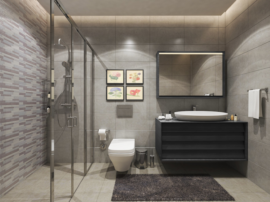 Meva Anadolu Zeray İnşaat A.Ş. Modern Banyo