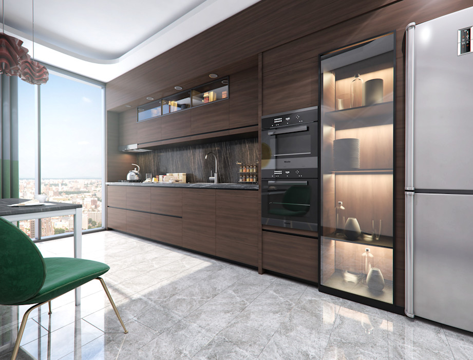 Meva Anadolu Zeray İnşaat A.Ş. Ankastre mutfaklar