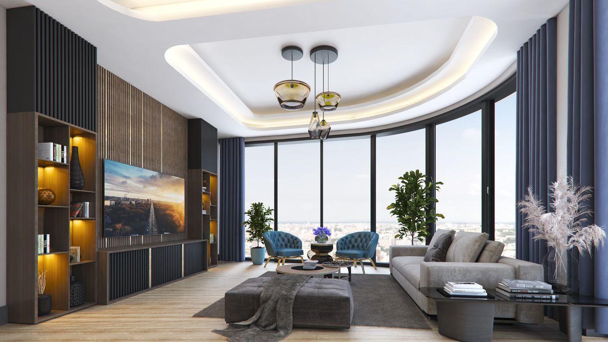 Meva Anadolu Zeray İnşaat A.Ş. Modern Oturma Odası