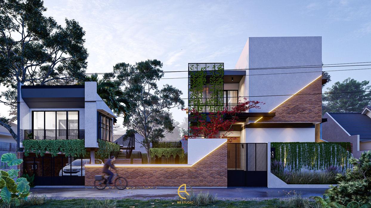 Rancang Reka Ruang Müstakil ev Gri