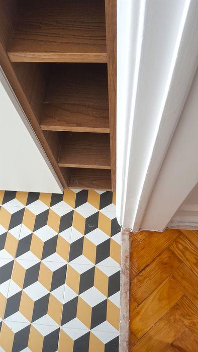 ARCHDESIGN LX Small kitchens Ceramic Multicolored