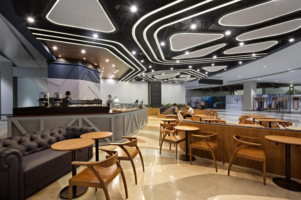 Monochrome T3 BAMA Ruang Makan Modern