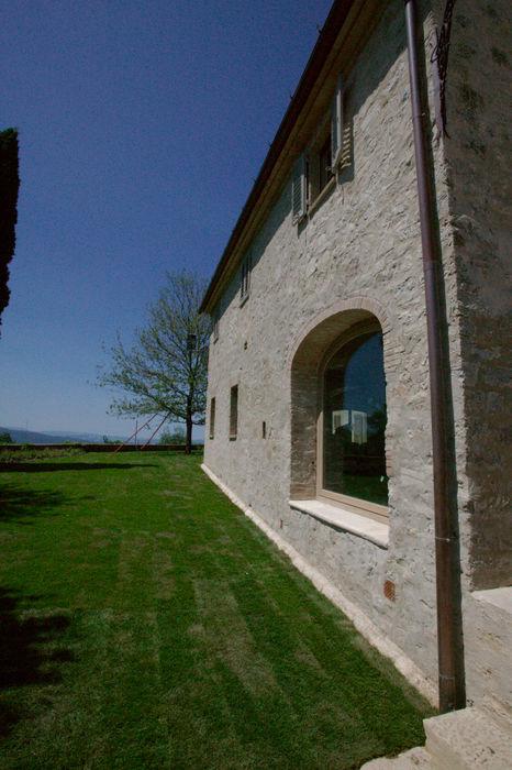 Restauro di una colonica in Chianti Studio Architetto Pontello Casa rurale
