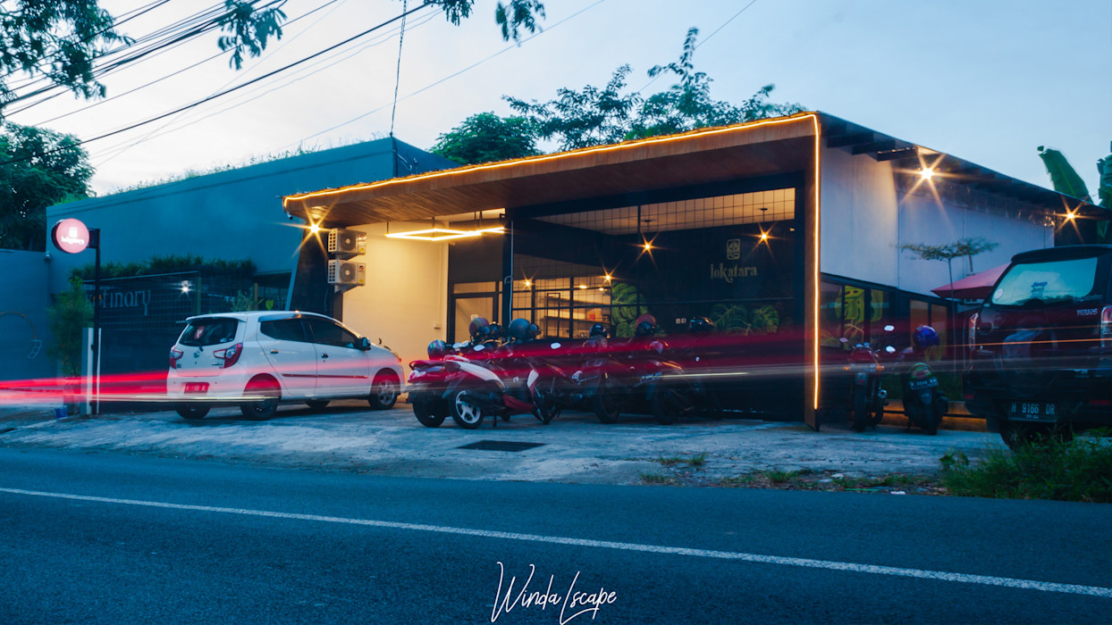 Fasade Lokatara Kahwa MR Arsitek Rumah Gaya Industrial