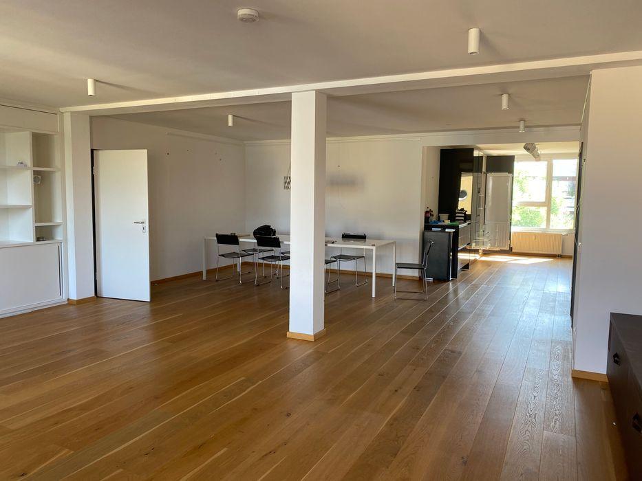 Essbereich - vorher Münchner home staging Agentur GESCHKA