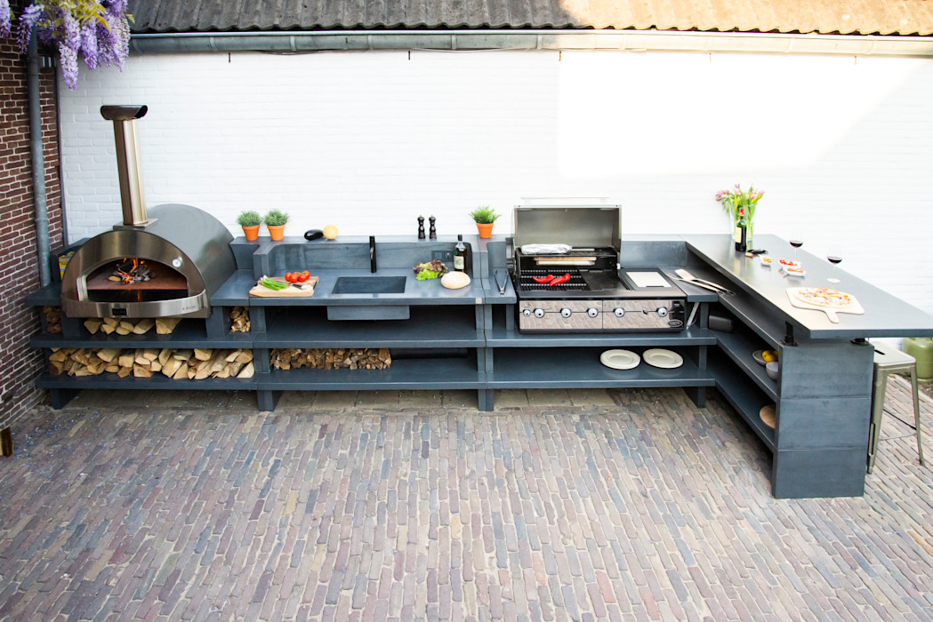 Arrange your kitchen tools in the shelves and drawers Alfa Forni Balconies, verandas & terraces Accessories & decoration