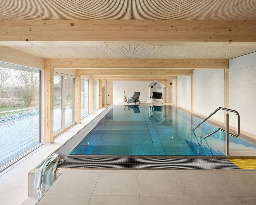 Haus L JEBENS SCHOOF ARCHITEKTEN BDA Moderne Pools