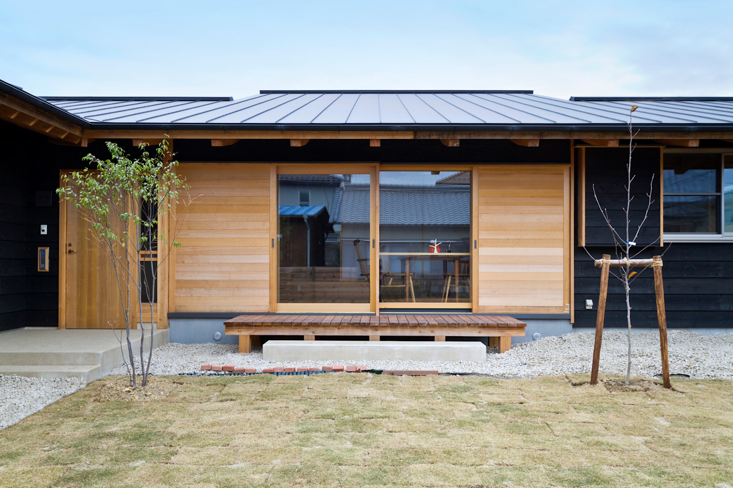 A modern and simple Japanese home