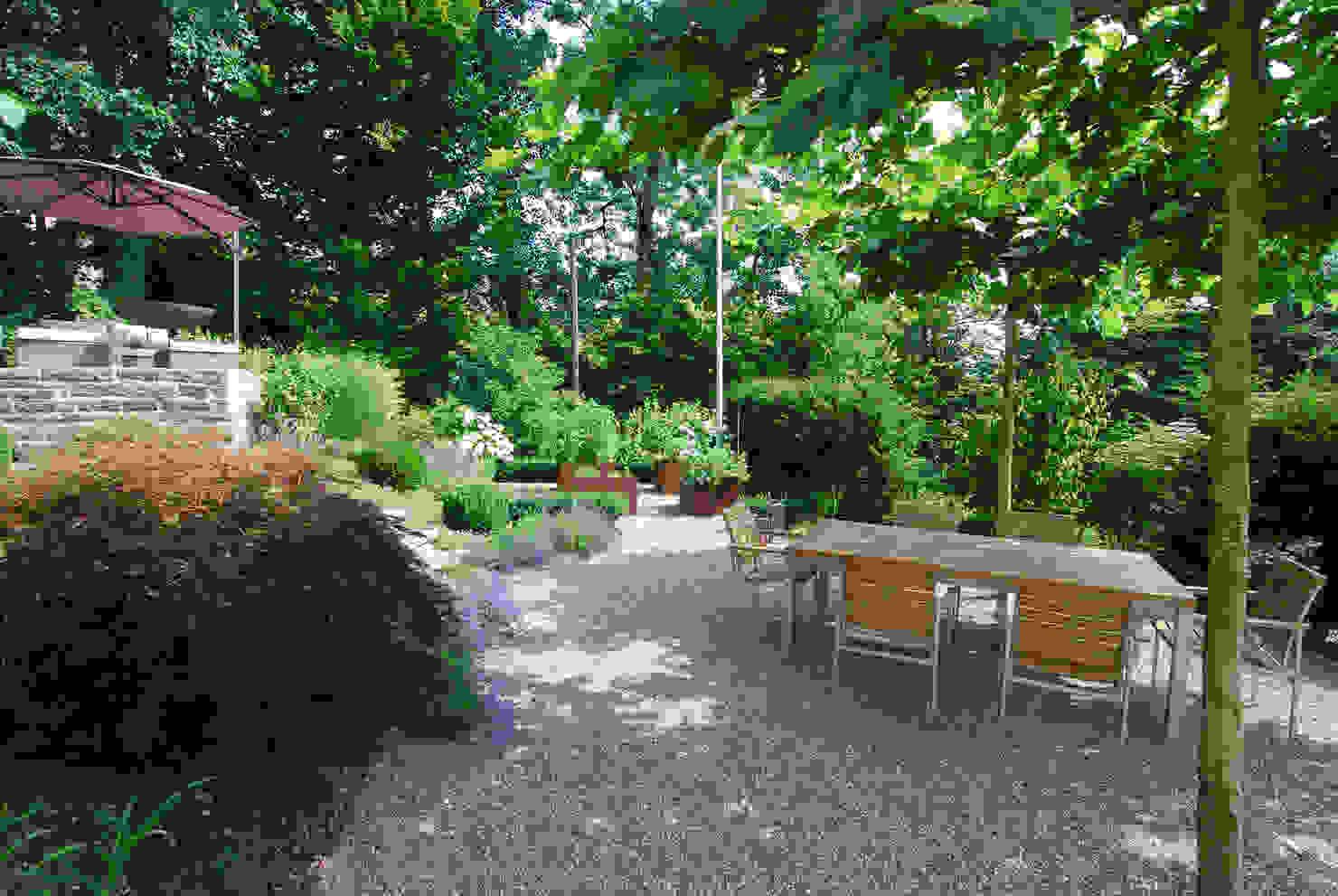 Traumhaft schöner Garten mit Geschichte in Erlenbach
