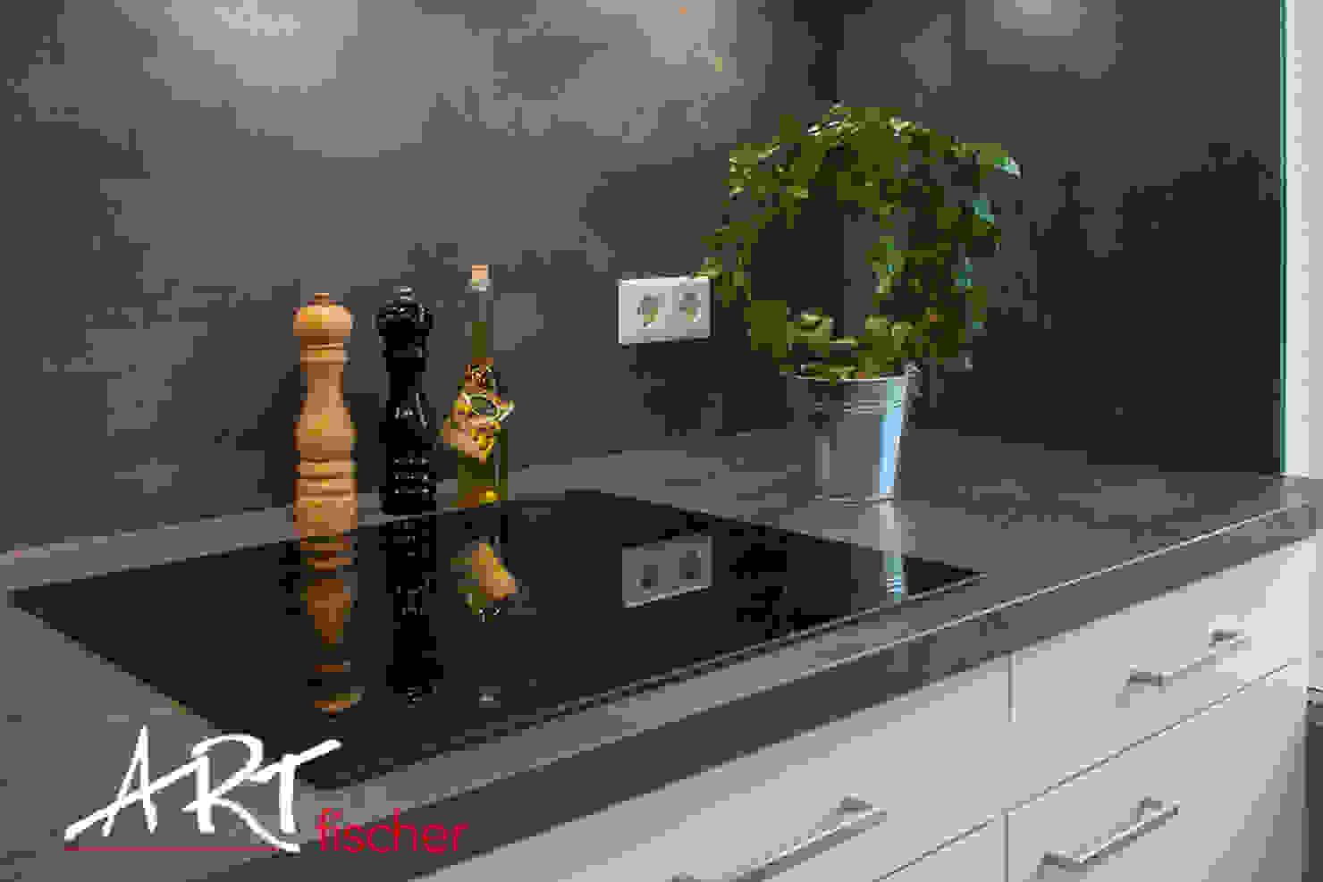 Eine maßgefertigte Küche in modernem Design