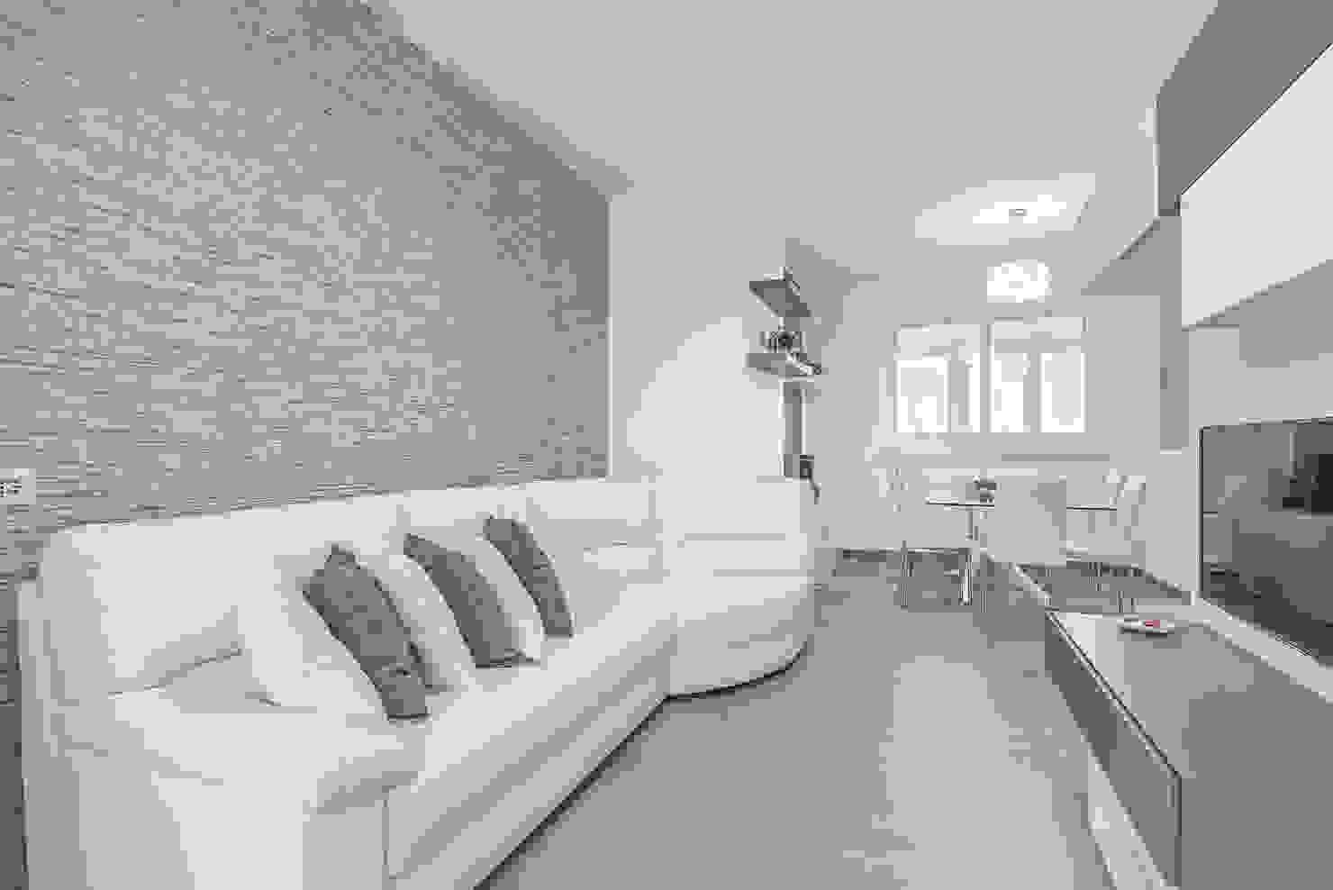 Un apartamento moderno y maravilloso en 85 metros cuadrados