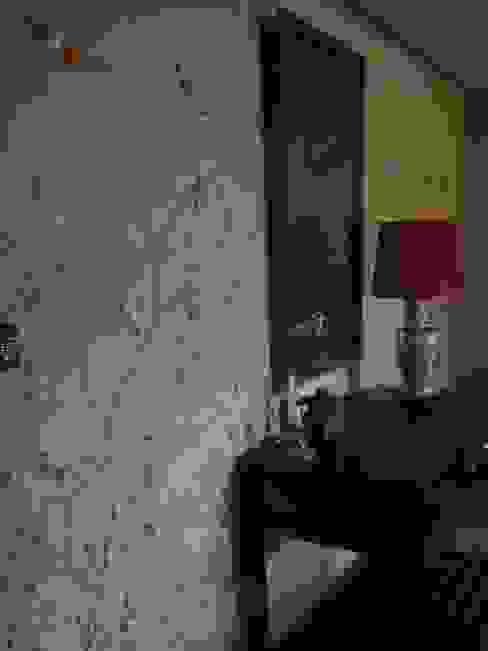 Wandmalerei & Oberflächenveredelungen Asian style corridor, hallway & stairs