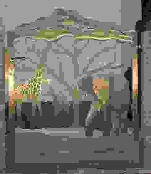 Stainless Steel Gate Сад в стиле модерн от Edelstahl Atelier Crouse: Модерн