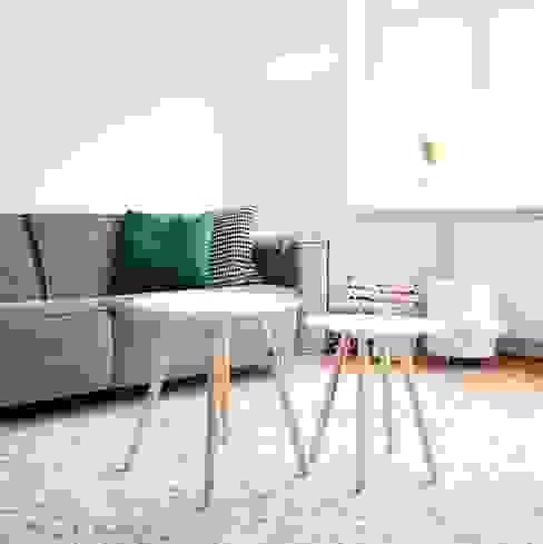 Living room by Evelyne Ontwerp, Scandinavian