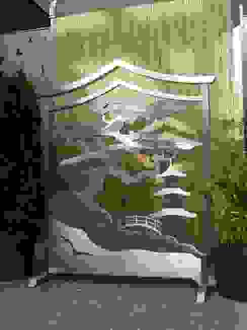 Artistic Gates Jardin asiatique par Edelstahl Atelier Crouse: Asiatique