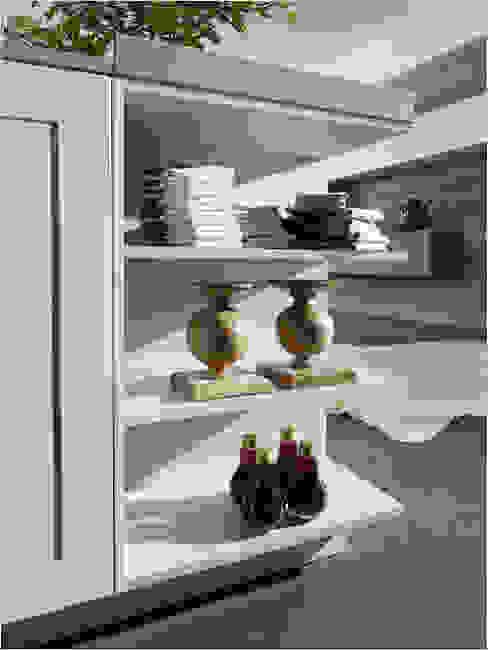 Küchenfronten - weiß von ALNO AG Rustikal