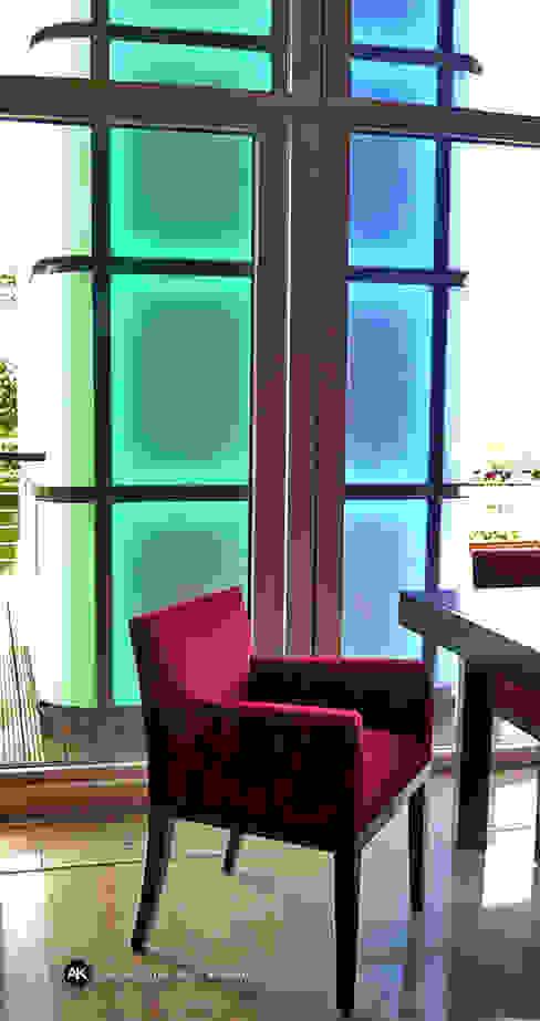 Lichtdesign Moderner Balkon, Veranda & Terrasse von Andras Koos Architectural Interior Design Modern