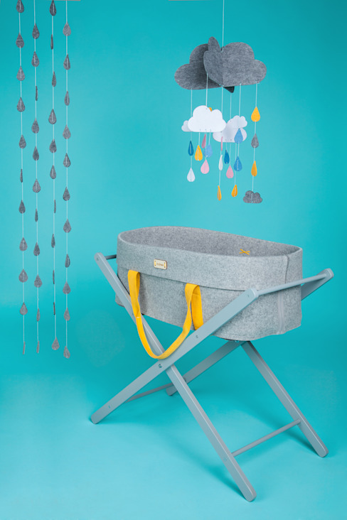 Summer Dash Wool Nest - Moses basket de moKee Moderno
