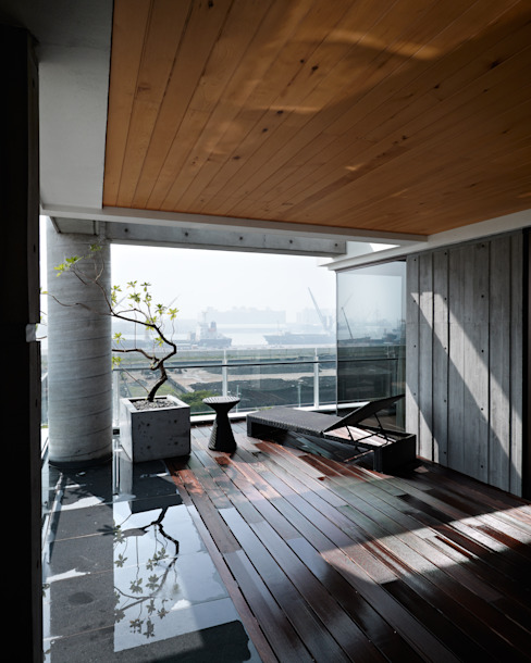 Asian style balcony, porch & terrace by LEICHT Küchen AG Asian