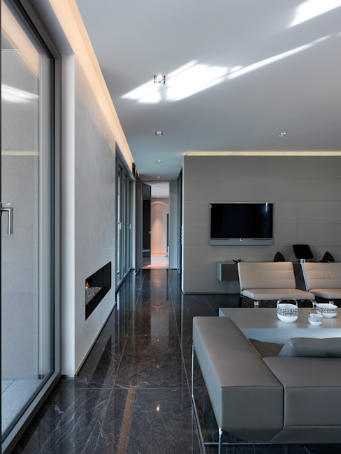 Modern living room by LEICHT Küchen AG Modern