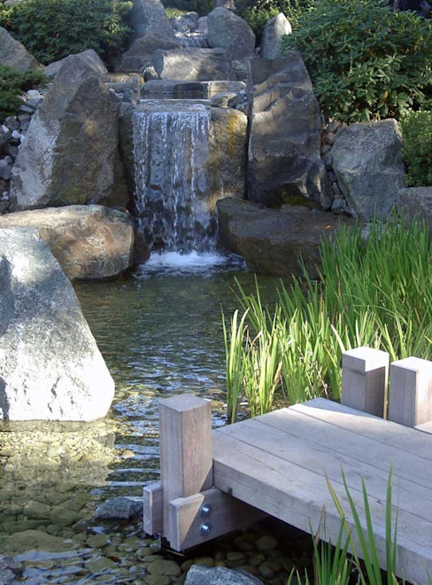 Bachläufe:  Garten von Kirchner Garten & Teich GmbH,Modern