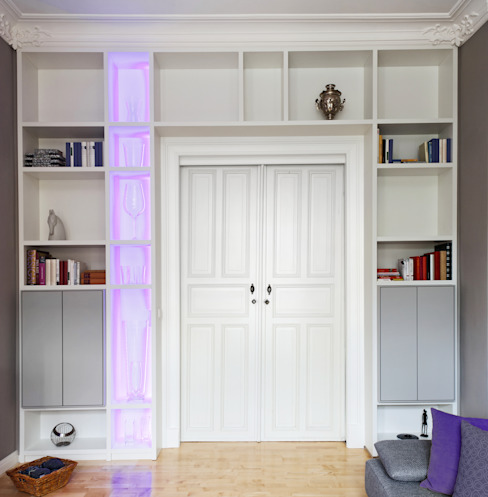 Altbauwohnung Bremen Klassische Fenster & Türen von schulz.rooms Klassisch