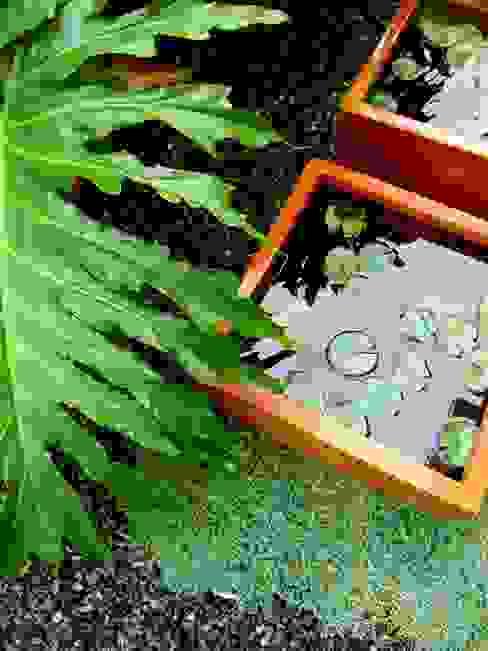 Jardin moderne par Simbiosi Estudi Moderne