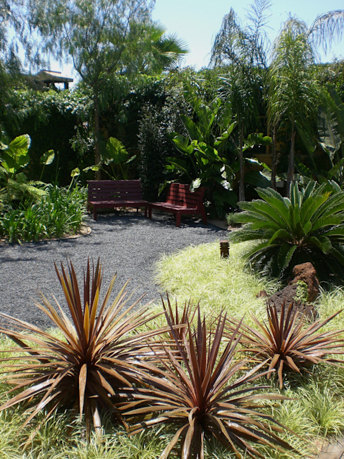 Vườn: thiết kế nội thất · bố trí · Ảnh bởi Simbiosi Estudi