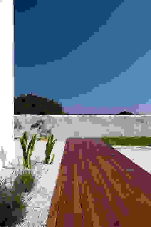 Vivienda en Menorca Jardines de estilo mediterráneo de dom arquitectura Mediterráneo