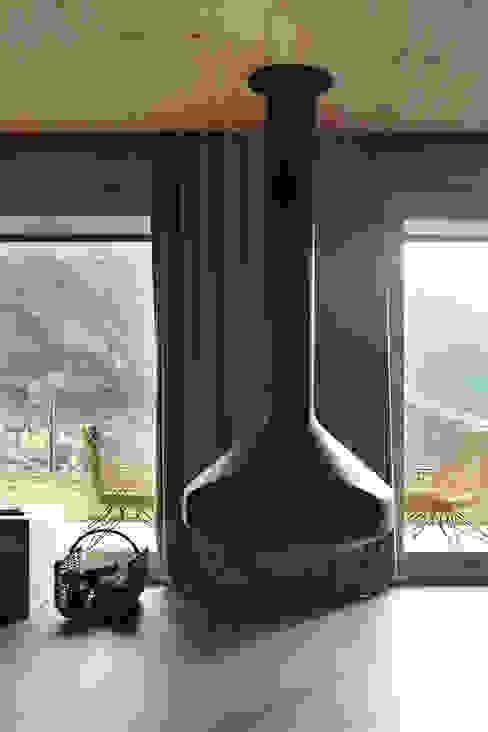 Projekty,  Domy zaprojektowane przez Coblonal Arquitectura, Skandynawski