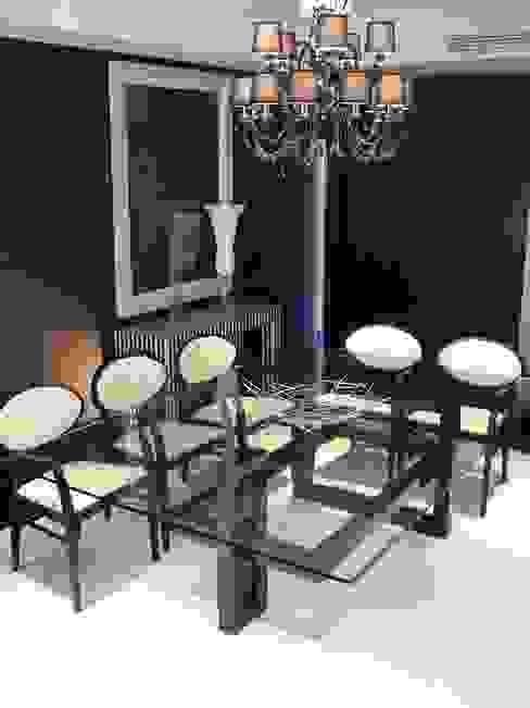 IOS - Moderner Tisch (Glasplatte): modern  von homify,Modern