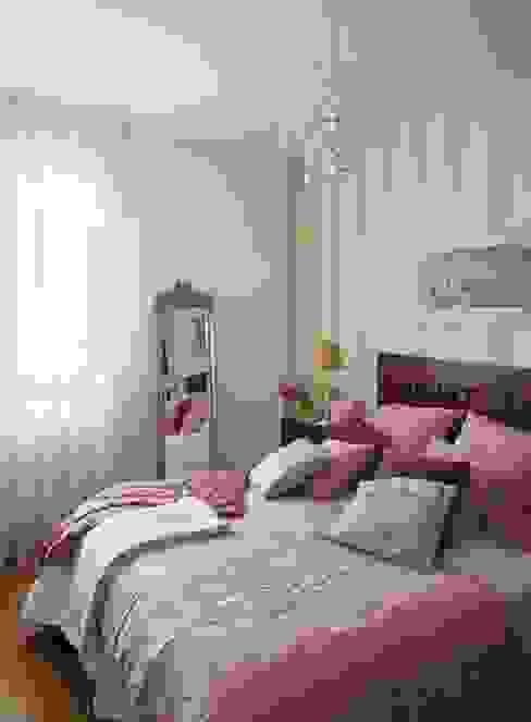 Dormitorio Casas de estilo moderno de Marta Sellarès - Interiorista Moderno