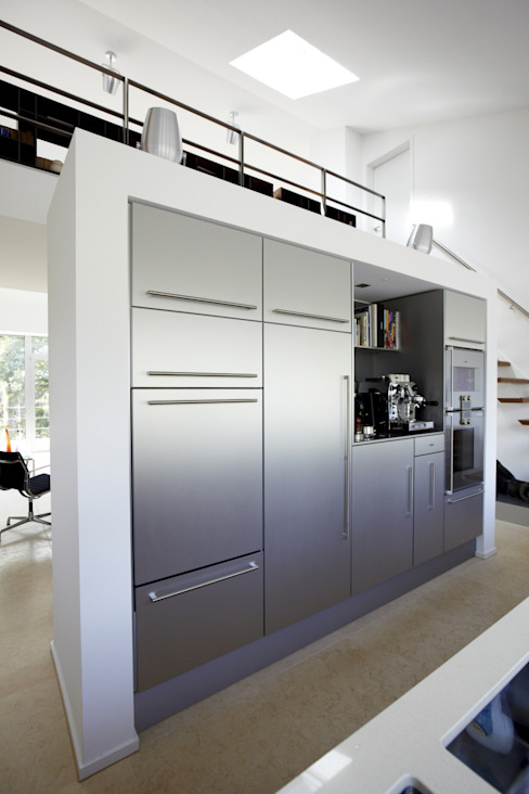 Designhaus Herdecke HAACKE Innenarchitekten & Designer Moderne Küchen