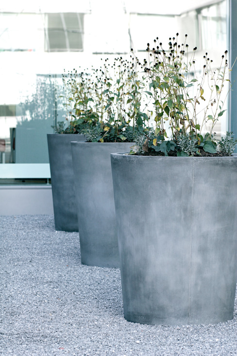 Concrete Rudolph GmbH Balconies, verandas & terraces Plants & flowers