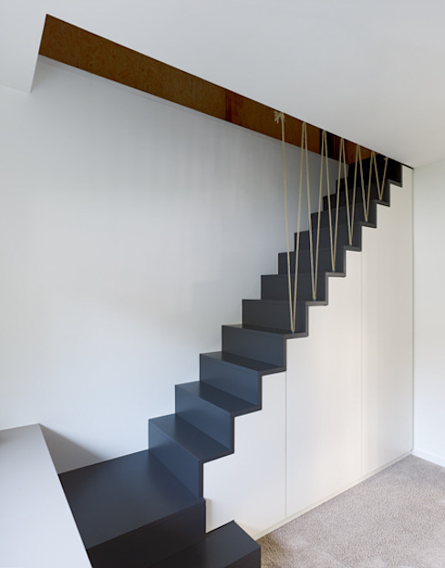 Corridor, hallway & stairs by Architektur Sommerkamp
